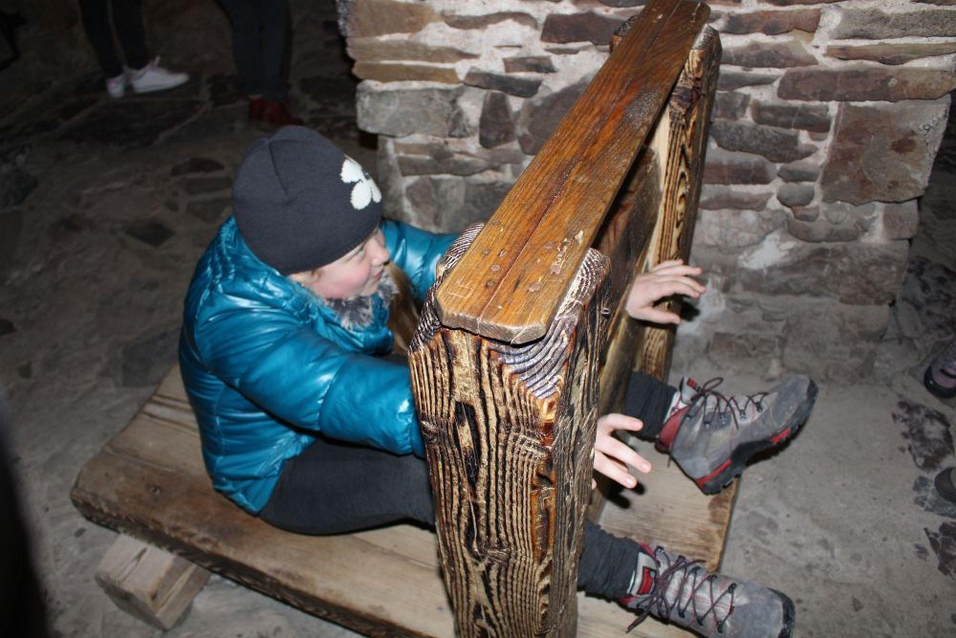 Atrakcja podczas wycieczki w Pieniny - dyby