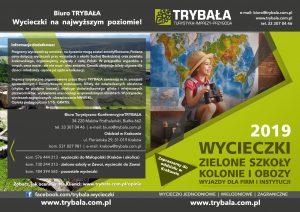 wycieczki szkolne oferta katalog