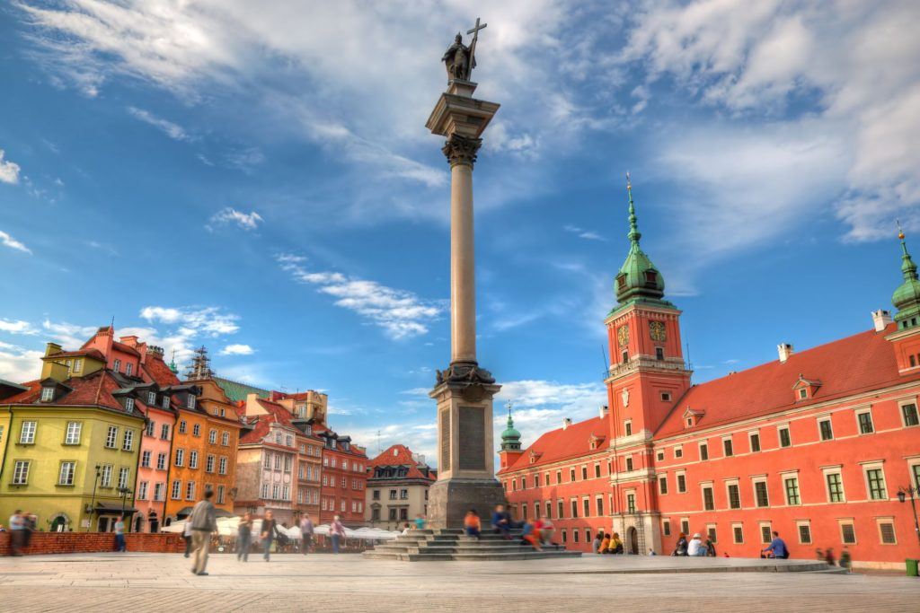wycieczka szkolna do Warszawy