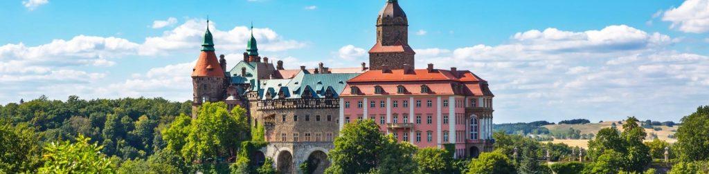 Dolny Śląsk, zamek w Książu