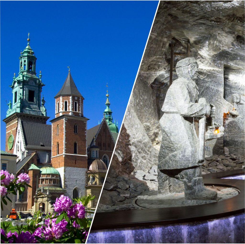 Wycieczka 2 dni Kraków i Wieliczka
