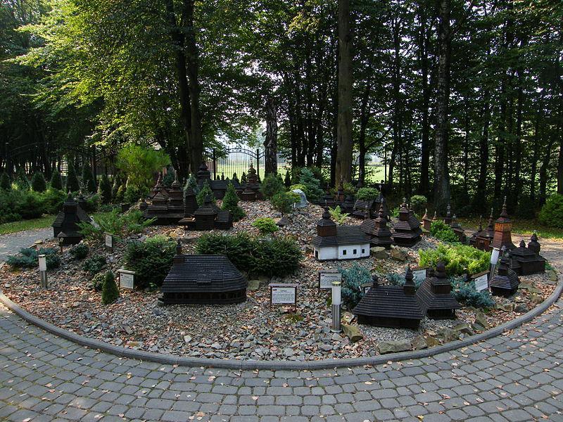 Myczkowce, Bieszczady, Park miniatur