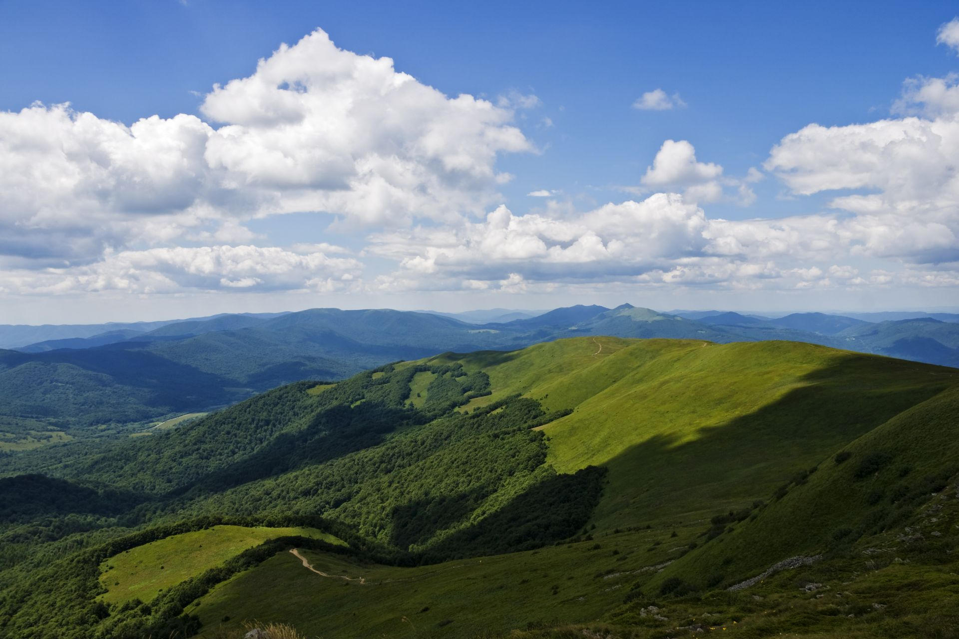bieszczady góry