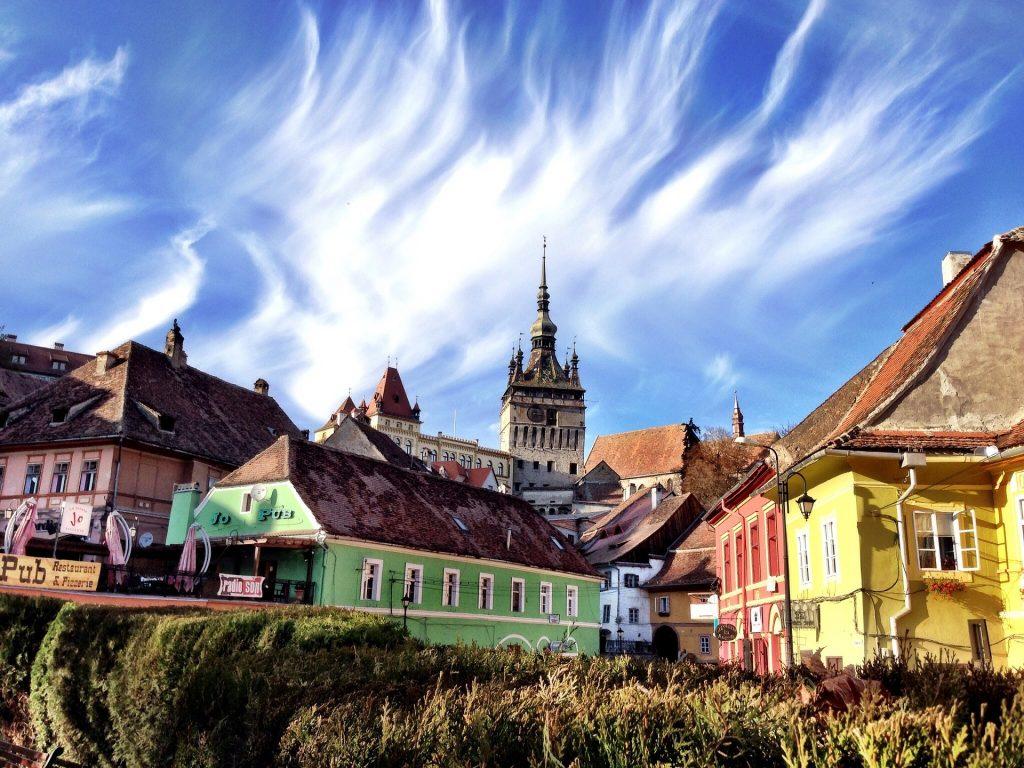 Sighisoara w Rumunii