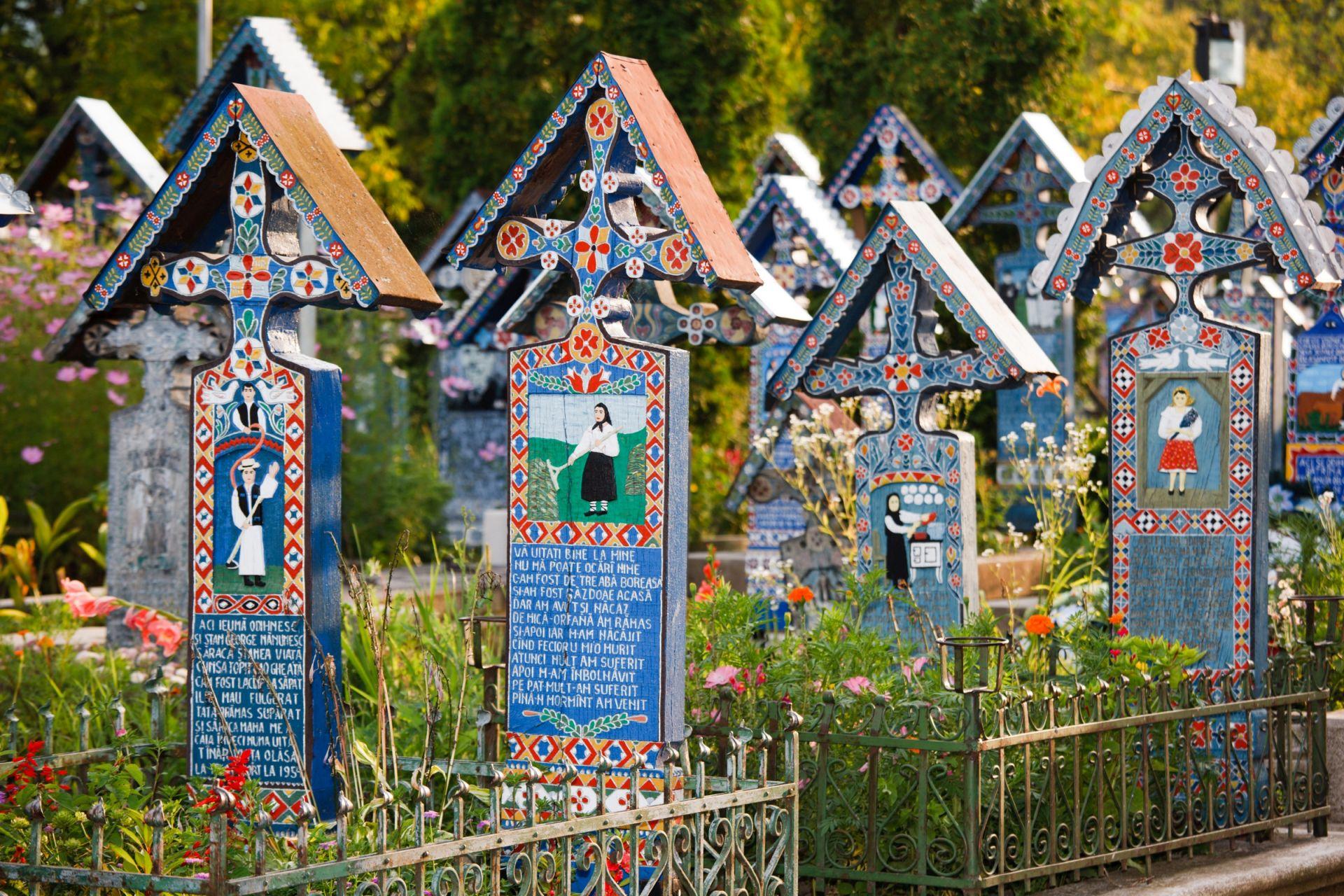 Sapanta, wesoły cmentarz