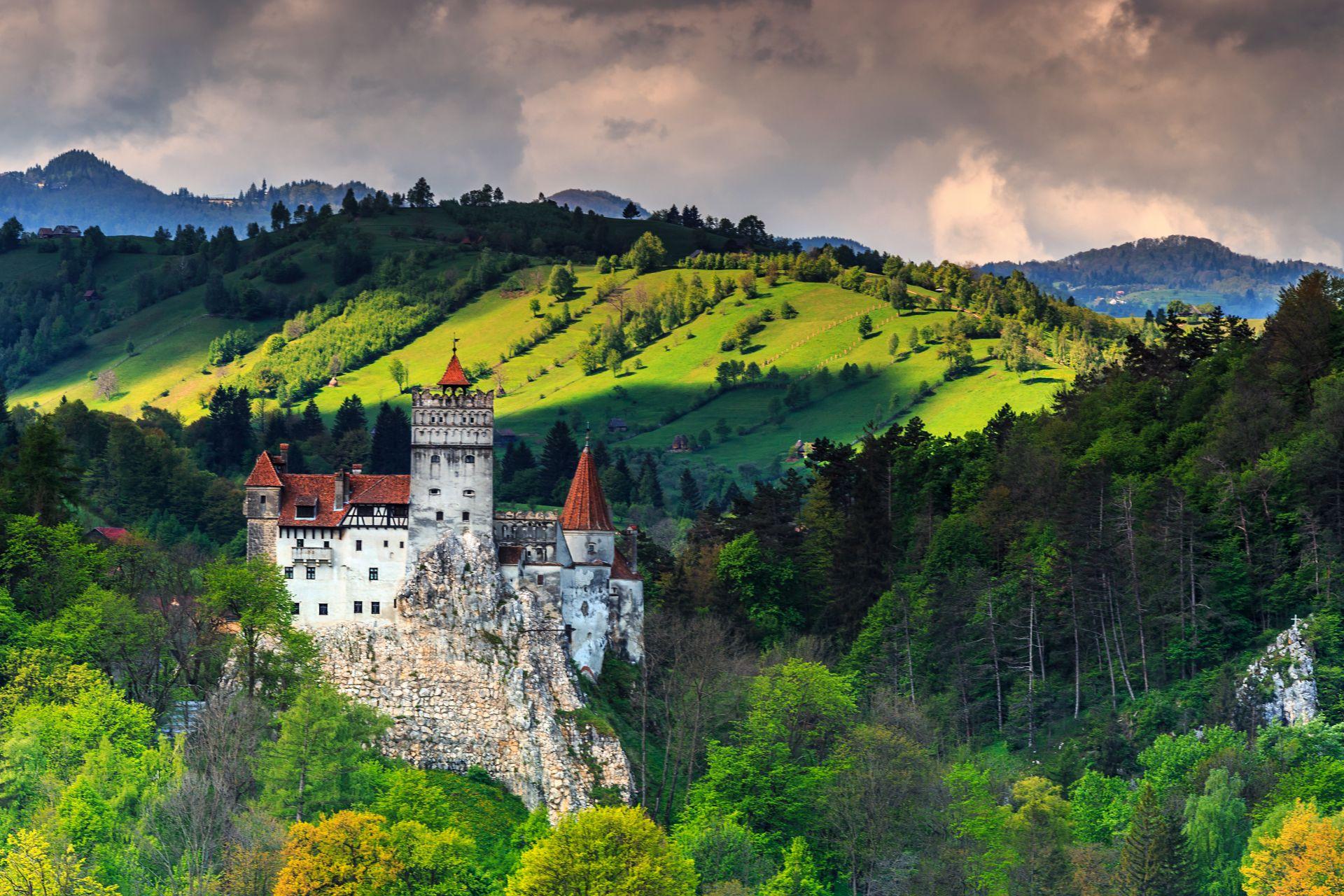 zamek Drakuli Rumunia Bran