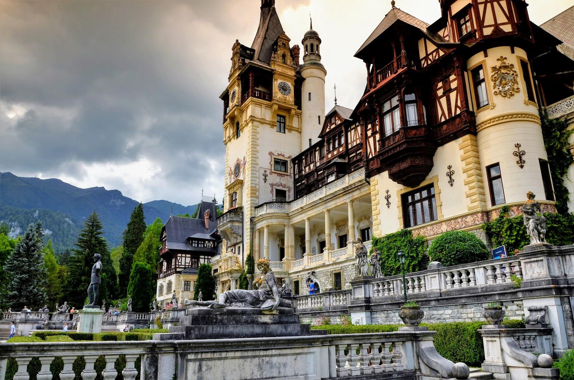 Peles, Rumunia - zamek
