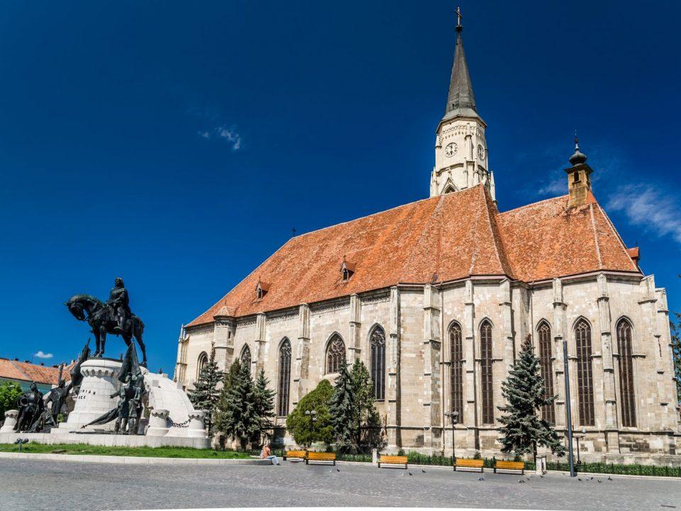 Kluż Napoka, Rumunia, kościół