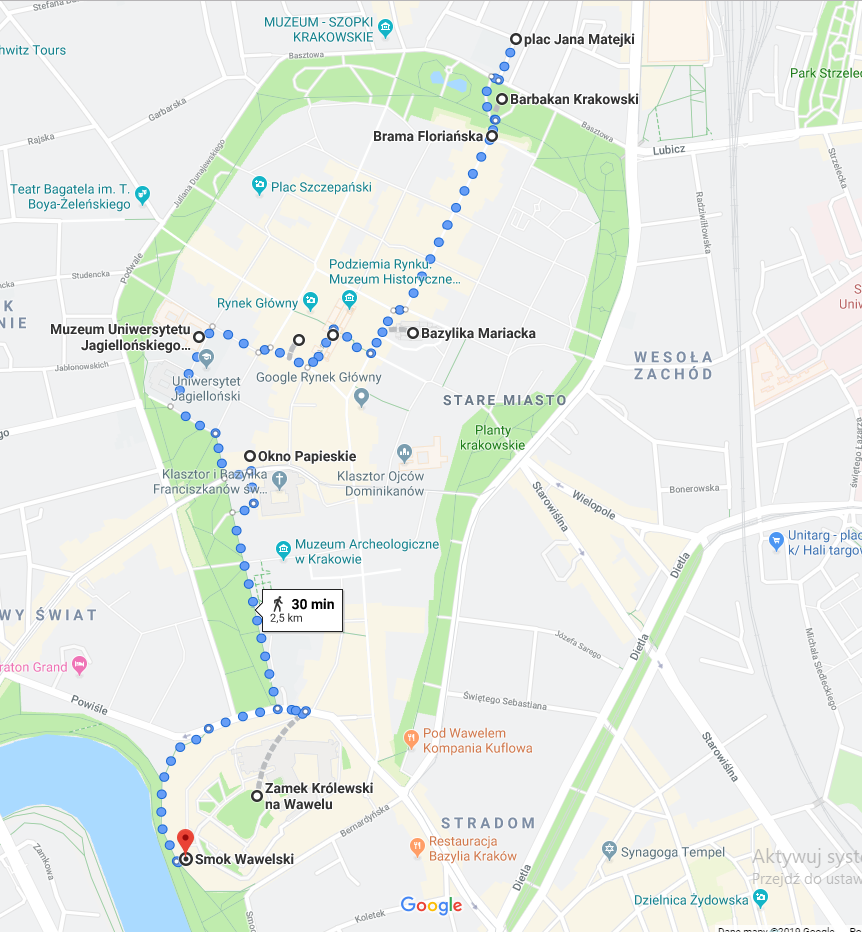 trasa-wycieczka-szkolna-krakow-1-dzien-infografika