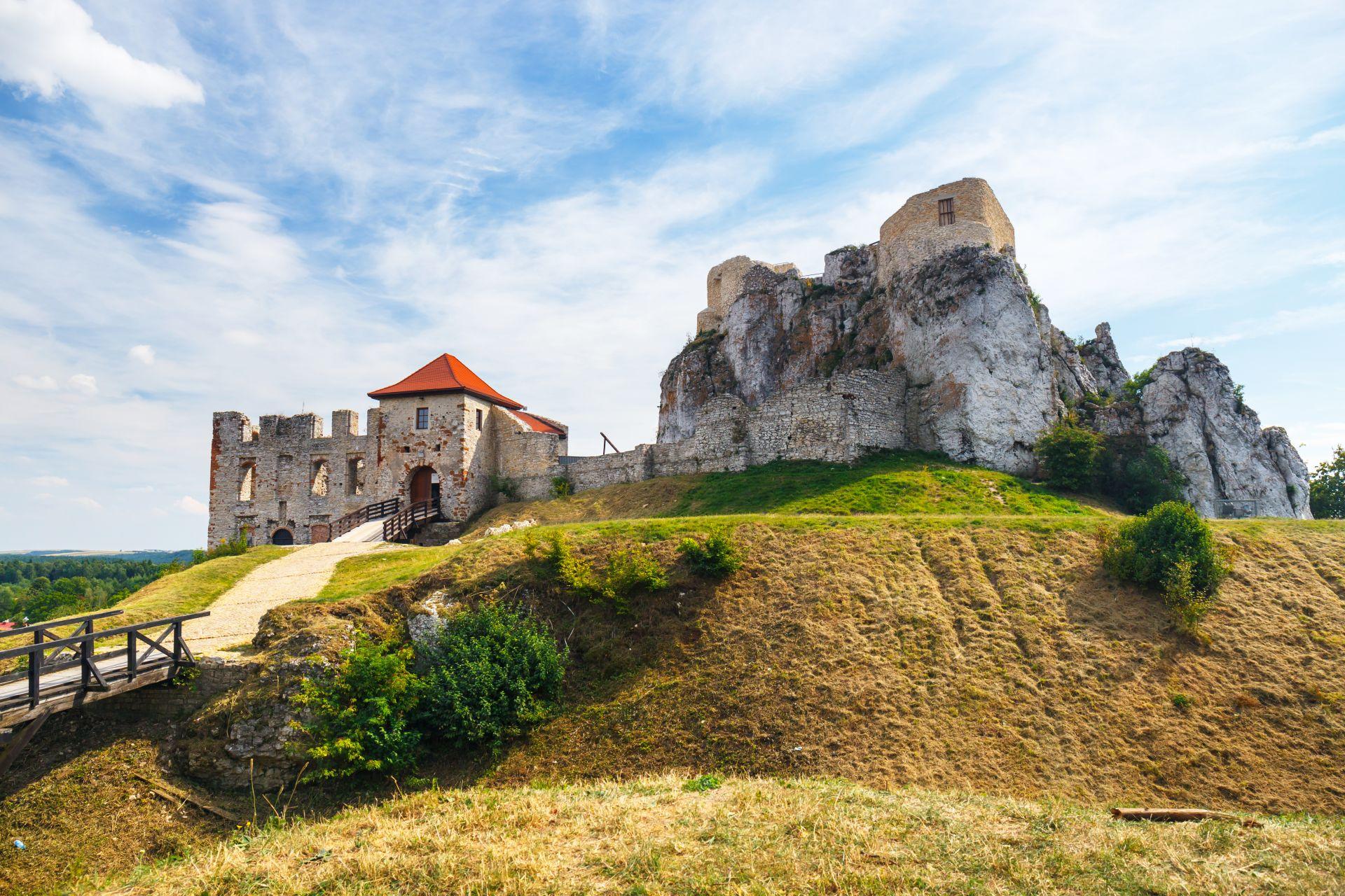 Rabsztyn Castle near Krakow, Poland